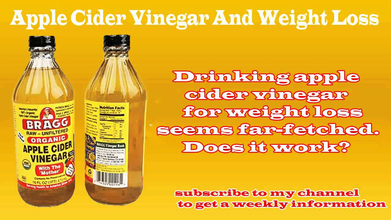 Apple Cider Vinegar Weight Loss Recipe how to use appl...