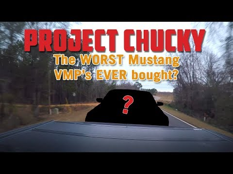 PROJECT CHUCKY: Rebuilding a Wrecked 2011 Mustang GT Episode 1