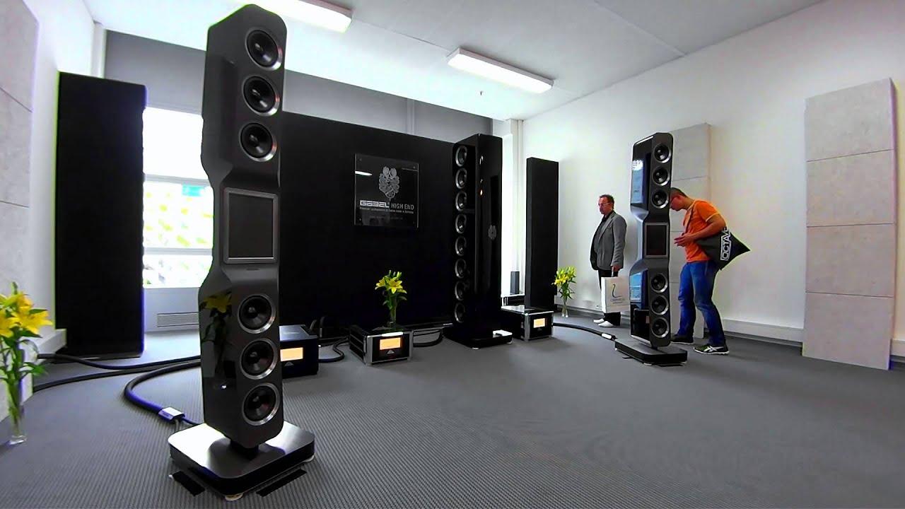 high end 2014 g bel audio off axis youtube. Black Bedroom Furniture Sets. Home Design Ideas