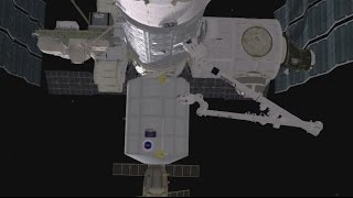 Moving Day! Canadarm2 prepares the ISS for future space taxis