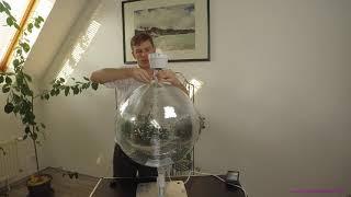 Spiegelkugel mit Akku + Equinox Halterung, APE LABS Coin, #9 Tech-Log, DJ I Vandercat