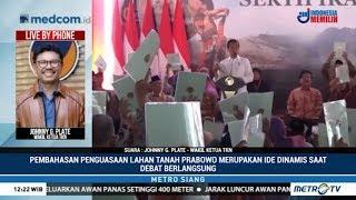 Jokowi Sindir Tanah Prabowo, TKN: Itu Reaksi Spontan