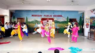 Punjabi Bhangara Choreography By RONIT KUMAR 7500170213