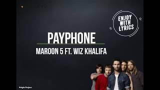 Payphone - Maroon 5 Feat Wiz Khalifa (Lyrics dan Terjemahan)
