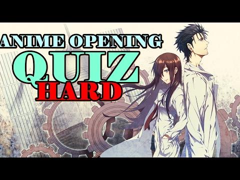 ANIME OPENING QUIZ | LEVEL: HARD | 40 OPENINGS
