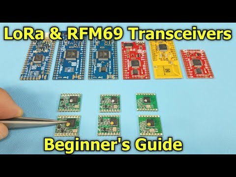 RFM69 & LoRa Transceiver How-To Guide & Best Practices