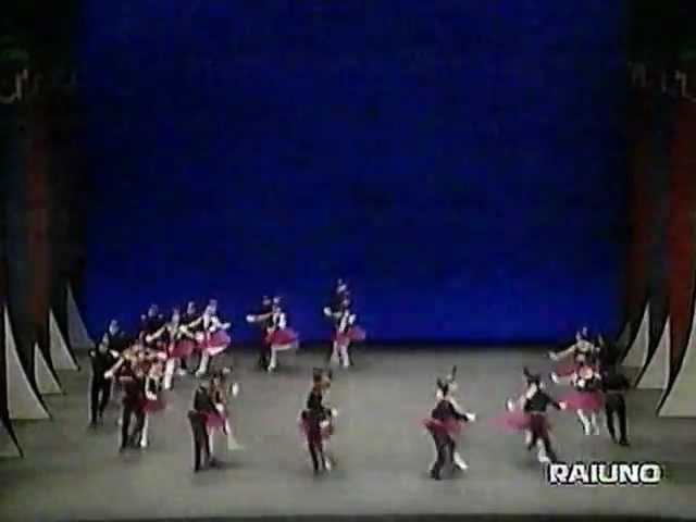 George Balanchine - STARS AND STRIPES - New York City Ballet