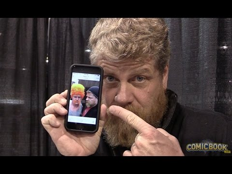 Michael Cudlitz At Wizard World Las Vegas