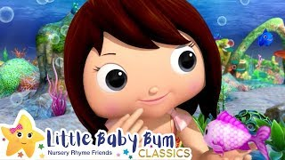 The Little Mermaid Song +More Nursery Rhymes and Kids Songs - ABCs and 123s | Little Baby Bum