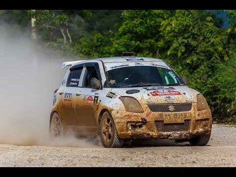 F2 Thailand Rally Championship 2016 Round 4 Lampang