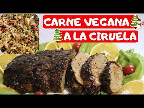 ¡EXQUISITO SEITAN A LA CIRUELA + RELLENO! -Transición Vegana