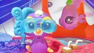 Littlest Pet Shop Toys - Walkables Slide And Dive Lagoon Playset ❤ Lps From Hasbro Toys ❤
