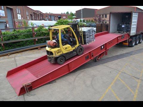 Thorworld Industries - Container Loading Ramp / Yardramp