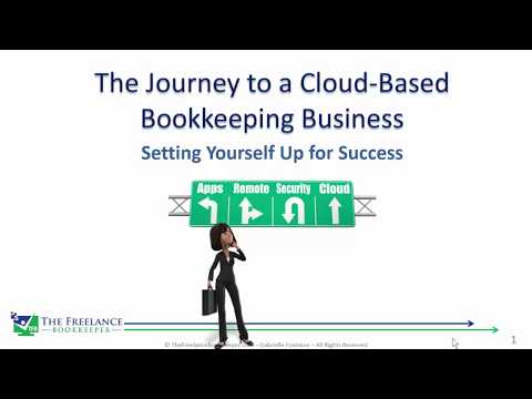 Bookkeeping Business Journey to the Cloud
