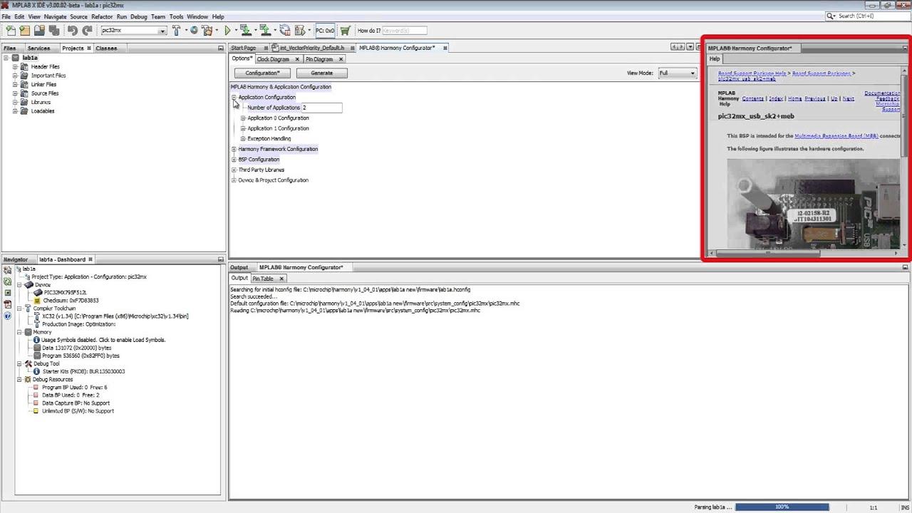 Application Migration using MPLAB® Harmony