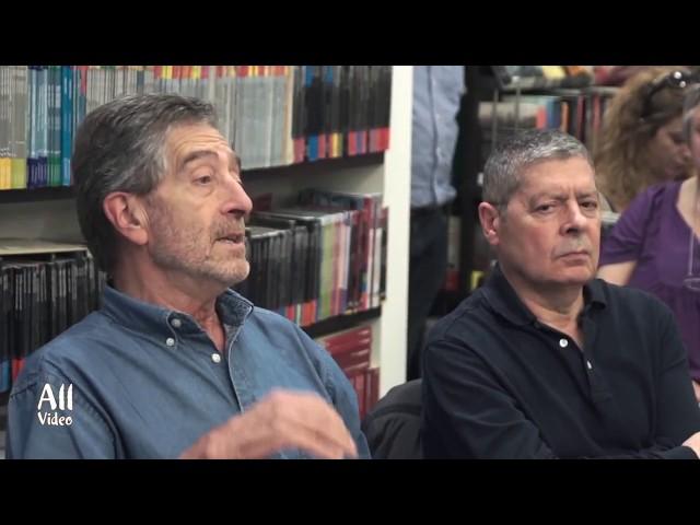 """Apresentación de """"Os nomes do terror"""" en Vigo"""