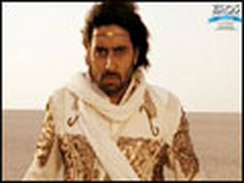 Abhishek does sword fighting  Drona