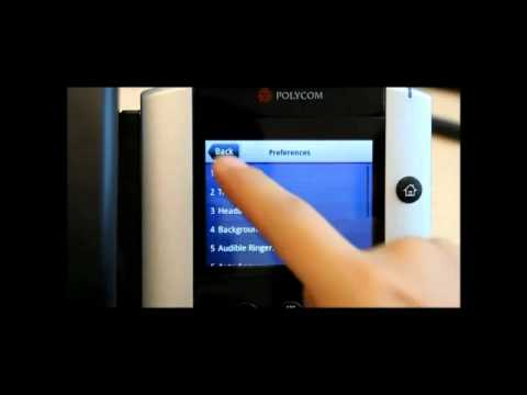 polycom phone hookup