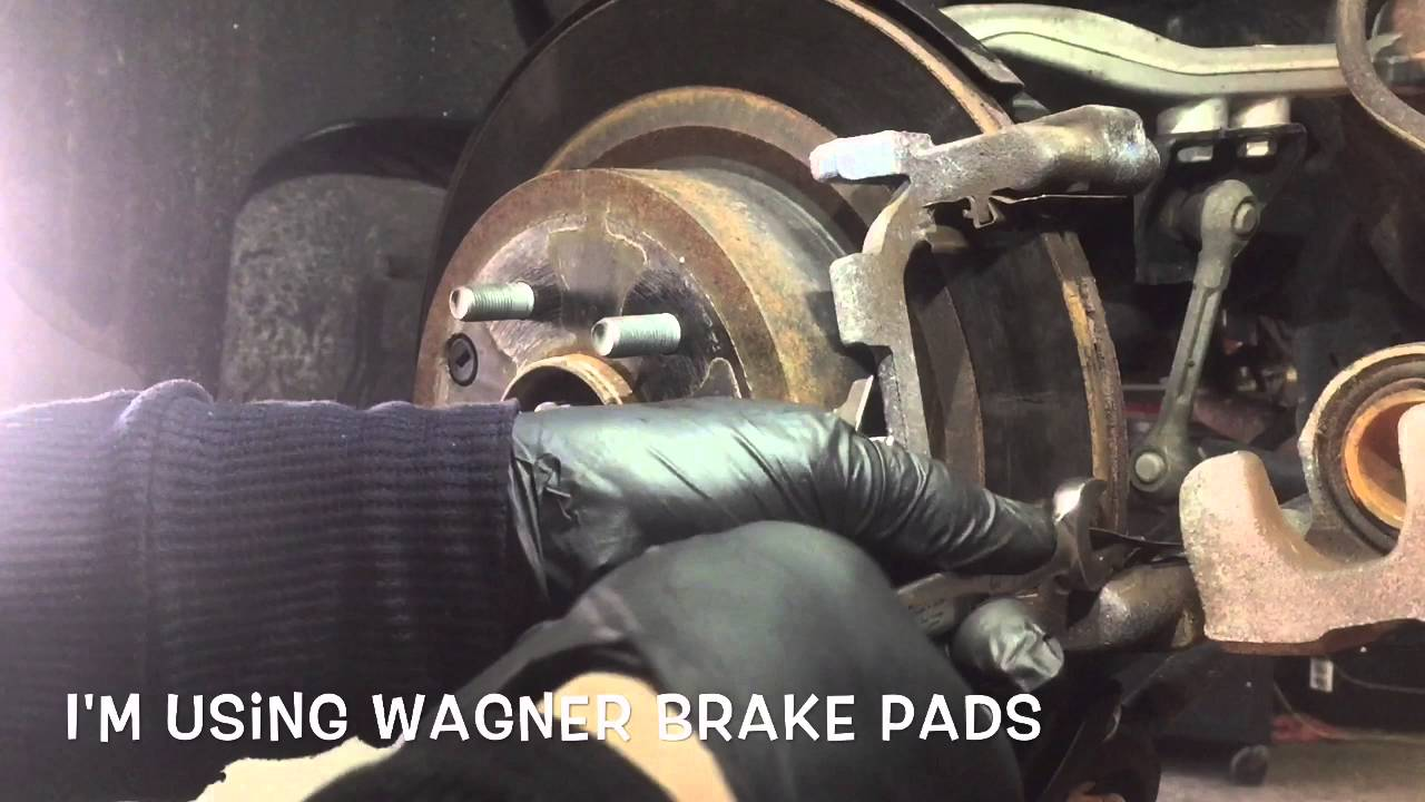 When To Replace Brake Pads >> How To Replace Infinity G37 Rear Brake Pads - YouTube
