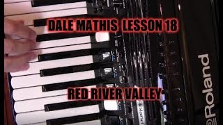 Roland FR4x Red River Valley accordion Lesson 18