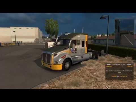 Let's Play American Truck Simulator - #008 - Arizona (Open Beta)