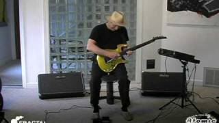 Repeat youtube video Adrian Belew Showcases His Fractal Audio Axe-Fx Ultra and Atomic Reactor FR Rig