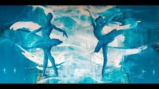 Pintura em Tela   O Balé