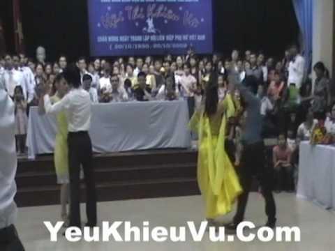 YeuKhieuVu.Com - Tango - Giai Nhi Khieu Vu Quoc Te Benh Vien Da Khoa TW Thai Nguyen ( Tango)