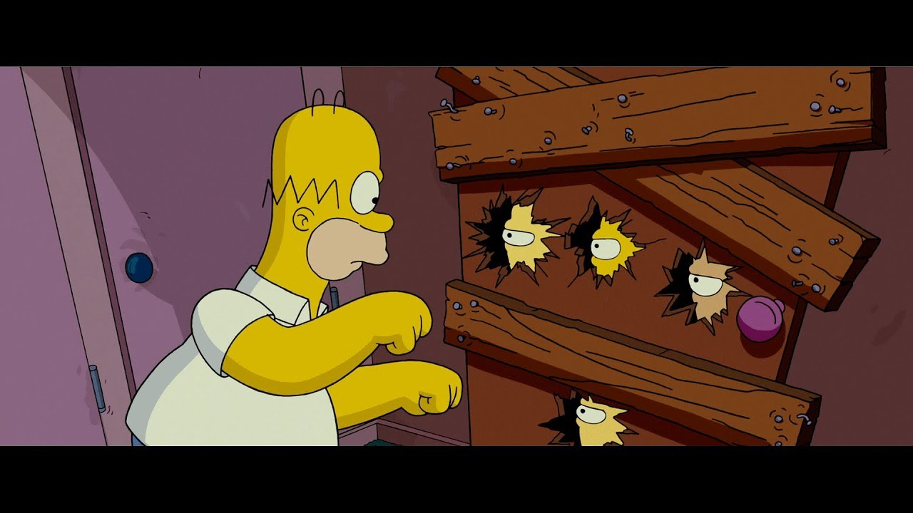 The Simpsons Movie I Got A Chainsaw 1080p Youtube