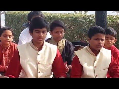 Master Prakhar and Anuj singing wo din hai kitna .