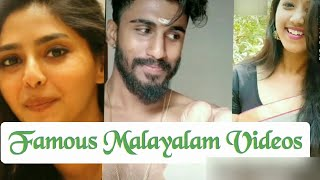 Latest Malayalam tiktok videos   famous Malayalam songs