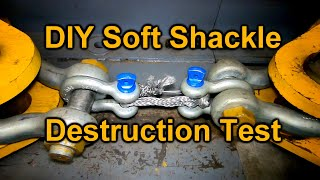 DIY 4x4 Soft Shackle - Bad Idea?