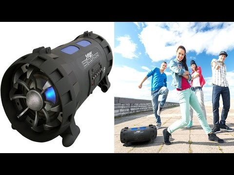Pyle Street Blaster PBMSPG100 Portable Bluetooth Wireless BoomBox With High Output Speaker System
