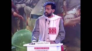 Inspiring Yogendra Yadav Speech at Times of India Forum