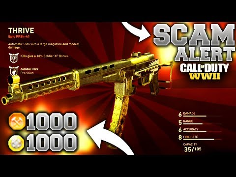 *SCAM ALERT* DON'T spend your ARMORY CREDITS in COD WW2... SAVE YOUR SUPPLY DROPS FOR DLC VARIANTS!