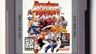 Classic Game Room HD - BATTLE ARENA TOSHINDEN for Game Boy review