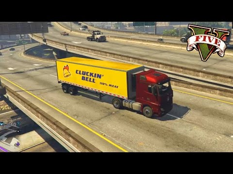 GTA V - PC - MODS - Mercedes Benz Actros! Euro Truck no GTA!