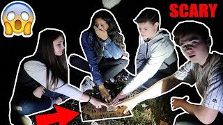 OUIJA BOARD IN CEMETERY! *SCARY*