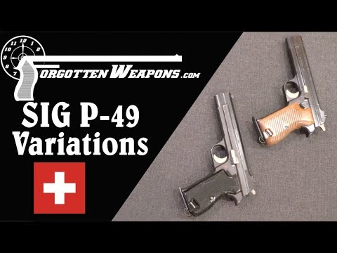 Military SIG P-49 Variations – Forgotten Weapons