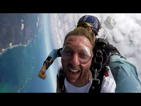 Tandem Skydiving Video Skydive Jurien Bay Mark Kepplinger Youtube