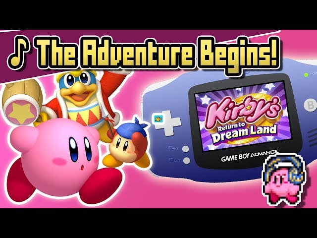 kirby returns to dreamland remix video, kirby returns to