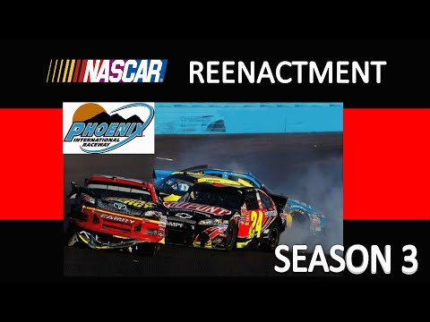 NASCAR REENACTMENT S3 E13 Jeff Gordon Wrecks Clint Bowyer 2012 Stop Motion