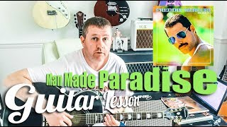 Freddie Mercury - Man Made Paradise  - Guitar Tutorial Lesson - Chords