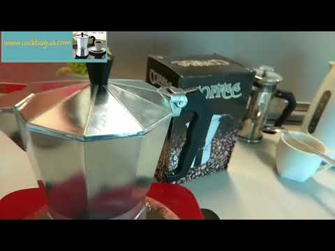 Cara Membuat Kopi Espresso Dengan Moka Pot 6 Cup