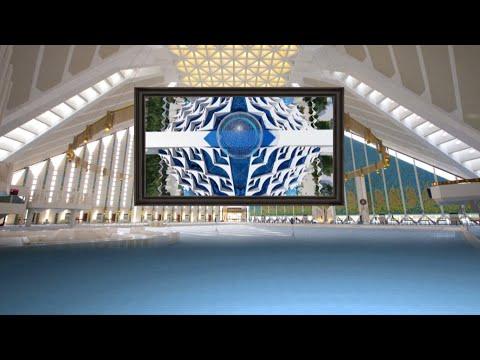 Islamic Virtual Studio Set, Islamic tv Studio Background #BSmotion