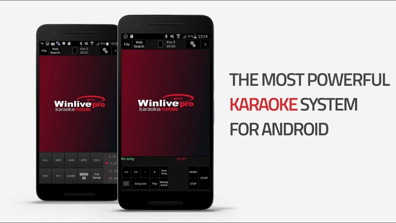 Pro Music Software - WinLive Karaoke