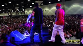 Tyga, French Montana, and Ca$h Out Live @ the 2012 L.A. DUB Show.