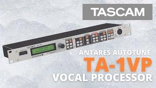 Video: Effetto Per Voce Tascam Ta-1vp Auto Tune