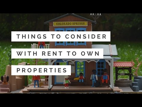 Things to Consider with Rent to Own Properties | Colorado Springs Landlord Education