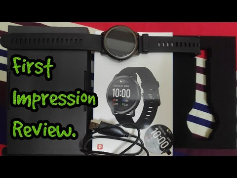 Xiaomi Haylou Solar LS05-1 Smart Watch Black First impression review.